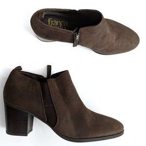 Franco Sarto - Brown Barrett Ankle boots Booties 7